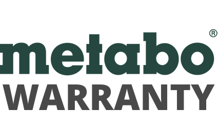 Metabo Warranty Badge