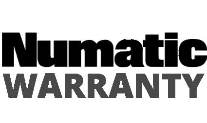 Numatic Warranty Badge