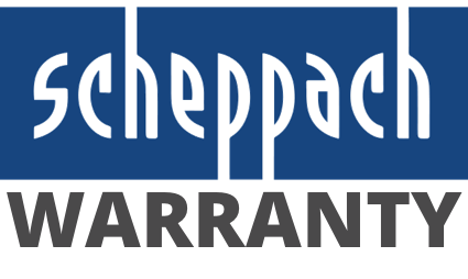 Scheppach Warranty Badge