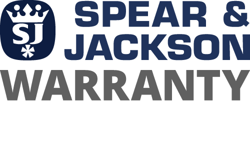 Spear & Jackson Warranty Badge
