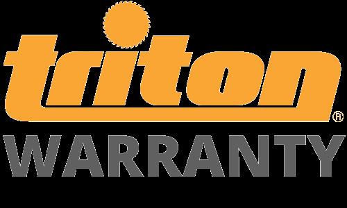 Triton Warranty Badge