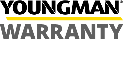 Youngman Warranty Badge