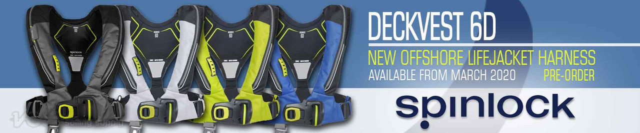 Spinlock 6D Deckvest Offshore Lifejacket