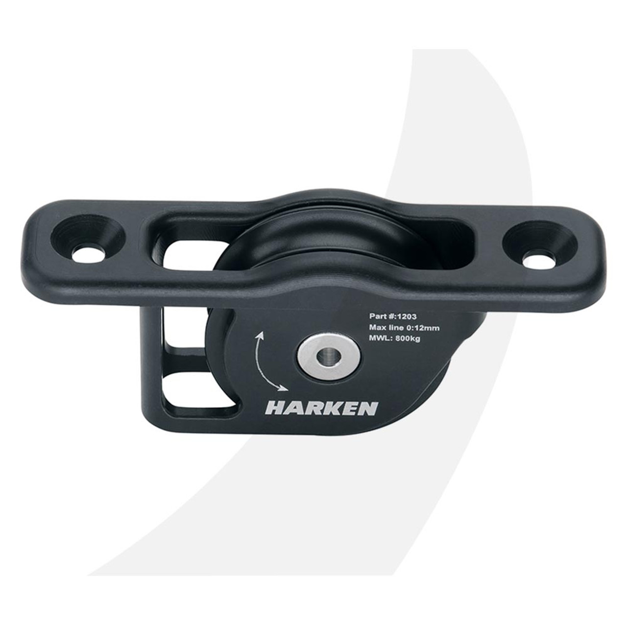 Harken 18 mm Fly™ Soft-Attach Block sailing dinghy keelboat hardware