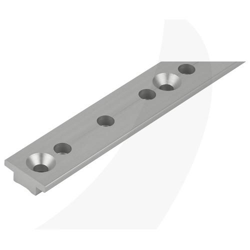"Schaefer T-Track 1-1/4""x3/16"" (32x5mm) 2' (.6m) Silver 40-72-C"
