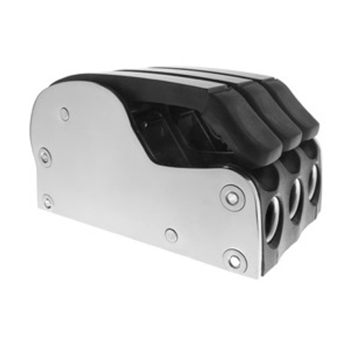 Spinlock Triple XCS0814 Rope Clutch with Polished Stainless Steel Sides