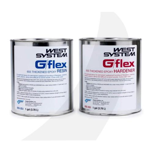 West System G/flex Epoxy Adhesive two, 1 gal