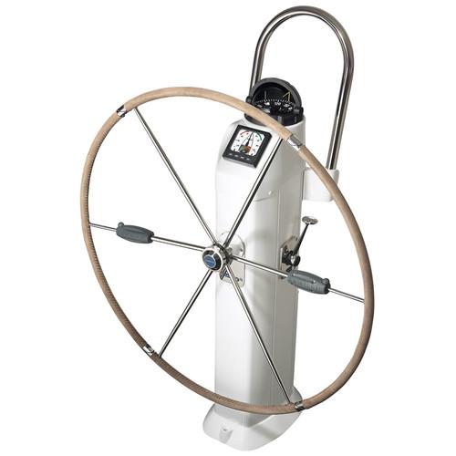 "Lewmar 36"" Folding Wheel Kit With Hide Cover 1"" Dual Hub"