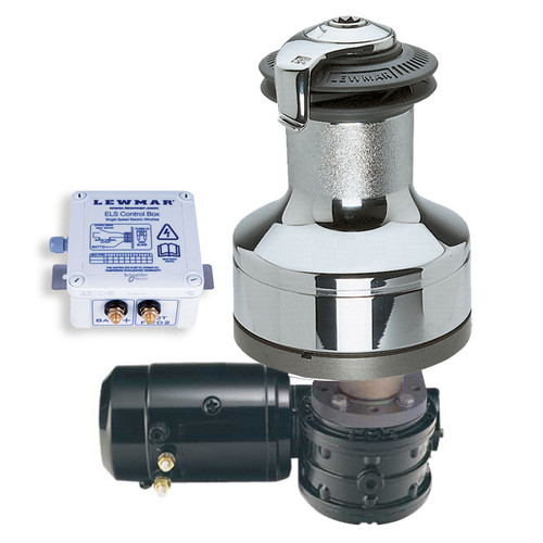 Lewmar 40EST Electric Winch 12V Chrome with ELS Control