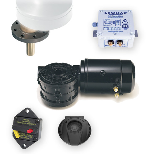 Lewmar 40ST EVO Electric Conversion Winch Kit ELS Control