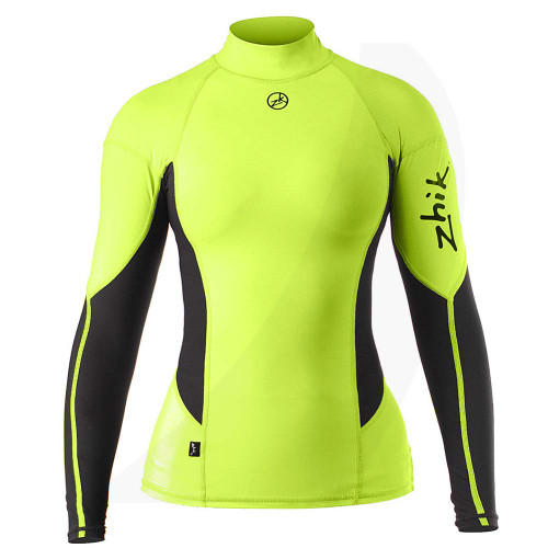 Zhik Women Spandex Top Long Sleeve HIVIS TOP-61-W-HIVIS