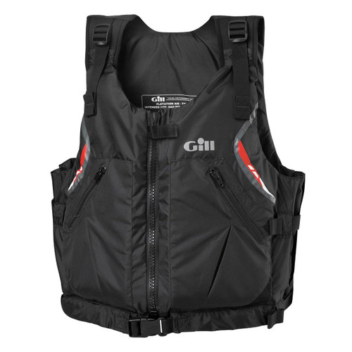Gill Front Zip Buoyancy Aid USCG Approved Black