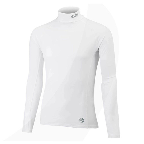 Gill UV Rash Guard Long Sleeve White