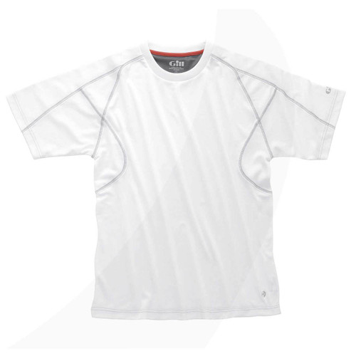 Gill UV Tec S/S T-Shirt White