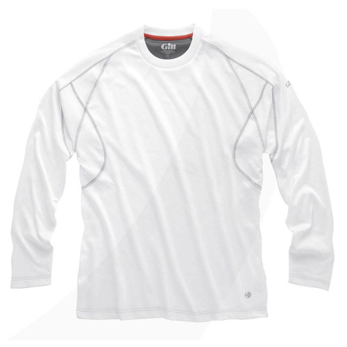 Gill UV Tec L/S T-Shirt White