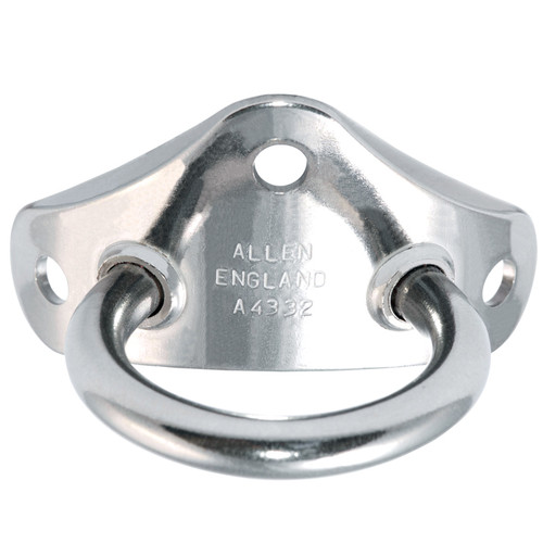 Allen Brothers 50MM Stainless Steel Single Mast Bracket