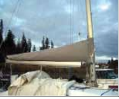 Vela Sailing Technology - Lazy Cradle Mainsail System - Boom up to 5.5 meters