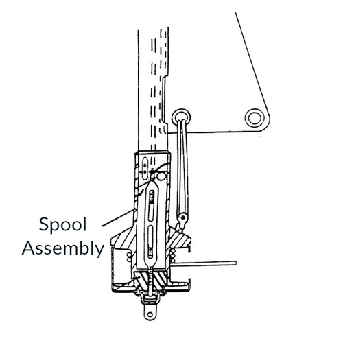 CDI FF7 Spool Assembly