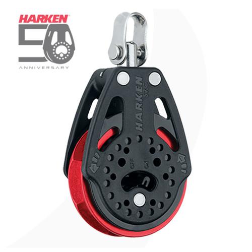 Harken 57mm Carbo Ratchet Block Red Sheave, Harken 50 Anniversary Blocks