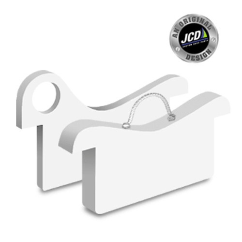 "JCD Etchells Mast Chocks (3"" wide) - Set"
