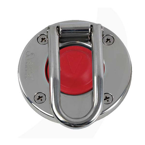 Antal Switch Stainless Steel w/ Protection Red