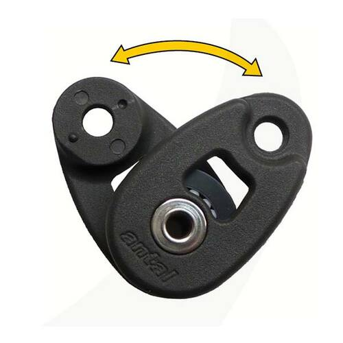 Antal 32mm Mini Snatch Block for Line Connection