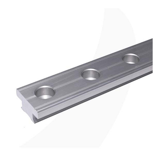 Antal 40X8 T-Track Silver 50mm Hole Spacing