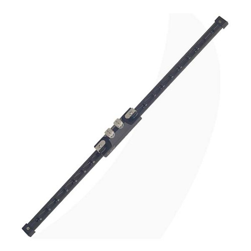 Antal 40X8 T-Track Halyard Slider System Double Pin Aluminum