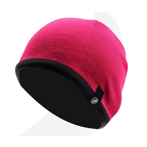 Rooster Fleece Lined Beanie Pink (106067-PK)