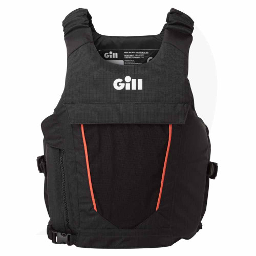 Gill Race Syncro PFD Black RS18 Front View