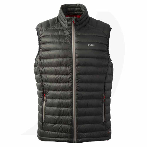 Gill Hydrophobe Down Vest Charcoal