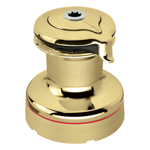Harken Radial 2 Speed Size 50 Self Tailing Polished Bronze Winch