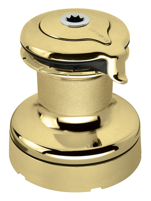 Harken Radial 2 Speed Size 60 Self Tailing Polished Bronze Winch