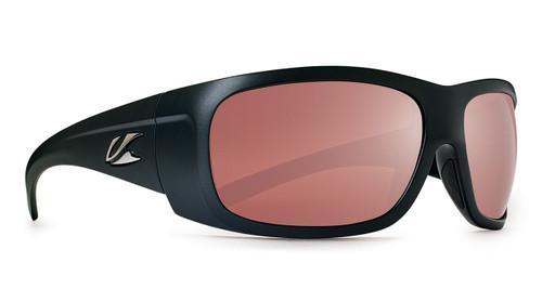 Kaenon Cliff Matte Black Polarized C12 Silver Mirror Lens