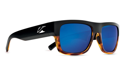 Kaenon Montecito Matte Black / Tortoise Polarized Pacific Blue Mirror Lens