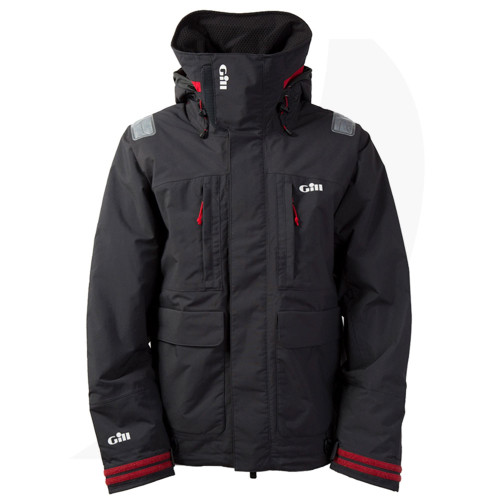 Gill FG25 Insulated Tournament Jacket Graphite Front View