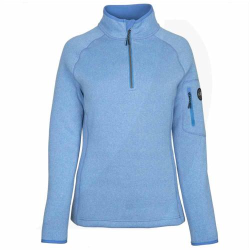 Gill Women's Knit Fleece Blue 1492W Front View