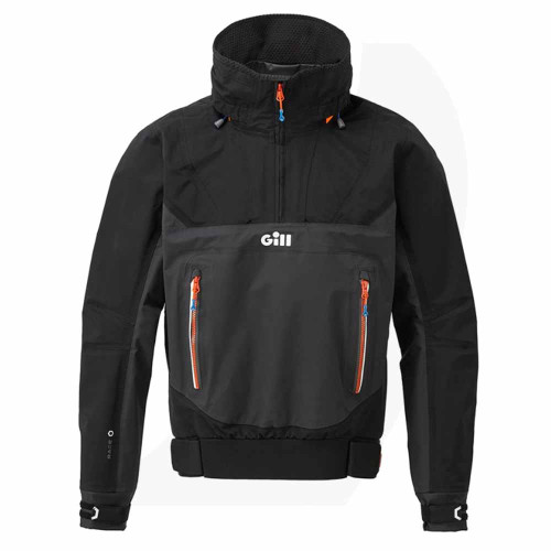 Gill Race Fusion Smock Black RS24S Front