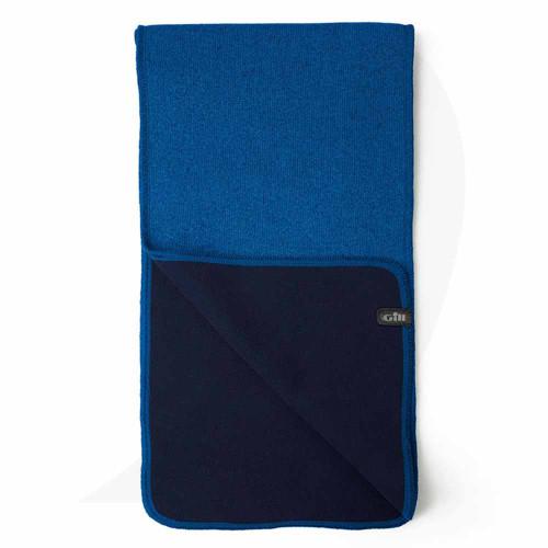 Gill Knit Fleece Scarf Blue 1496