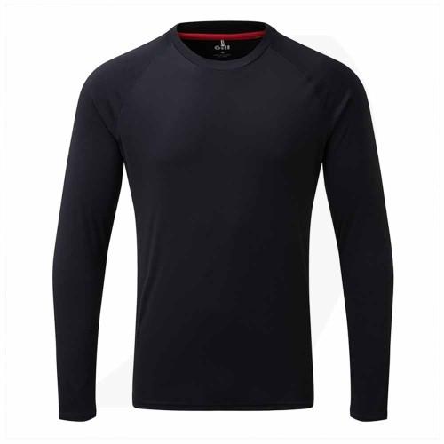 Gill Men's UV Tec Long Sleeve Tee Navy UV011 Front