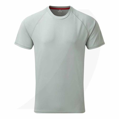 Gill Men's UV Tec Tee Grey UV010 Front