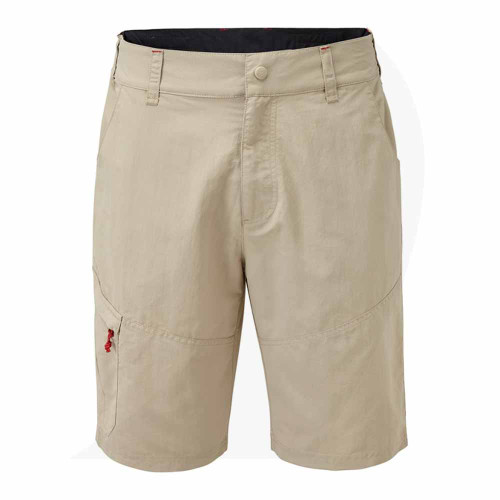Gill Men's UV Tec Short Khaki UV012 Front View