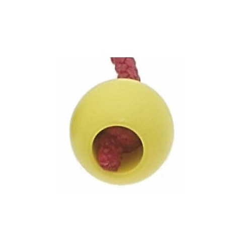 Viadana 33mm Scallop Flap Ball With 8mm Yellow