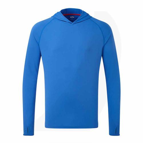 Gill UV Tec Hoody Blue UV016 Front