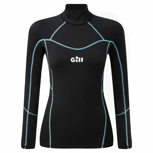 Gill Womens Hydrophobe Top Black 5006W Front View