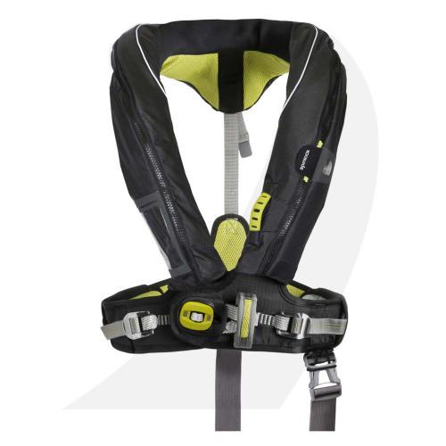Spinlock DURO+ Lifejacket w/Harness 275N Black DW-LTDH-A275 Front