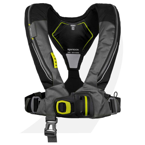 Spinlock Deckvest Lifejacket Harness 6D 170N Black DW-LJH6D/A