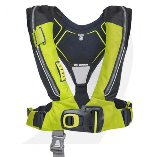 Spinlock Deckvest Lifejacket Harness 6D 170N Citrus Yellow DW-LJH6D/ACY
