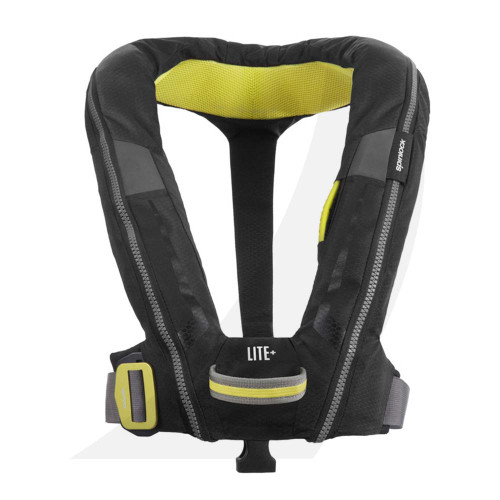 Spinlock Deckware Deckvest LITE PLUS Lifejacket Black DW-LTH-A