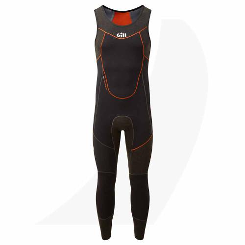 Gill Men's Zentherm Skiff Suit Black 5000 Front View